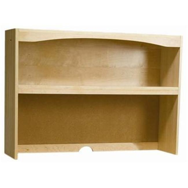 Bolton Furniture 8055200 Wakefield Lg Desk Hutch Natural