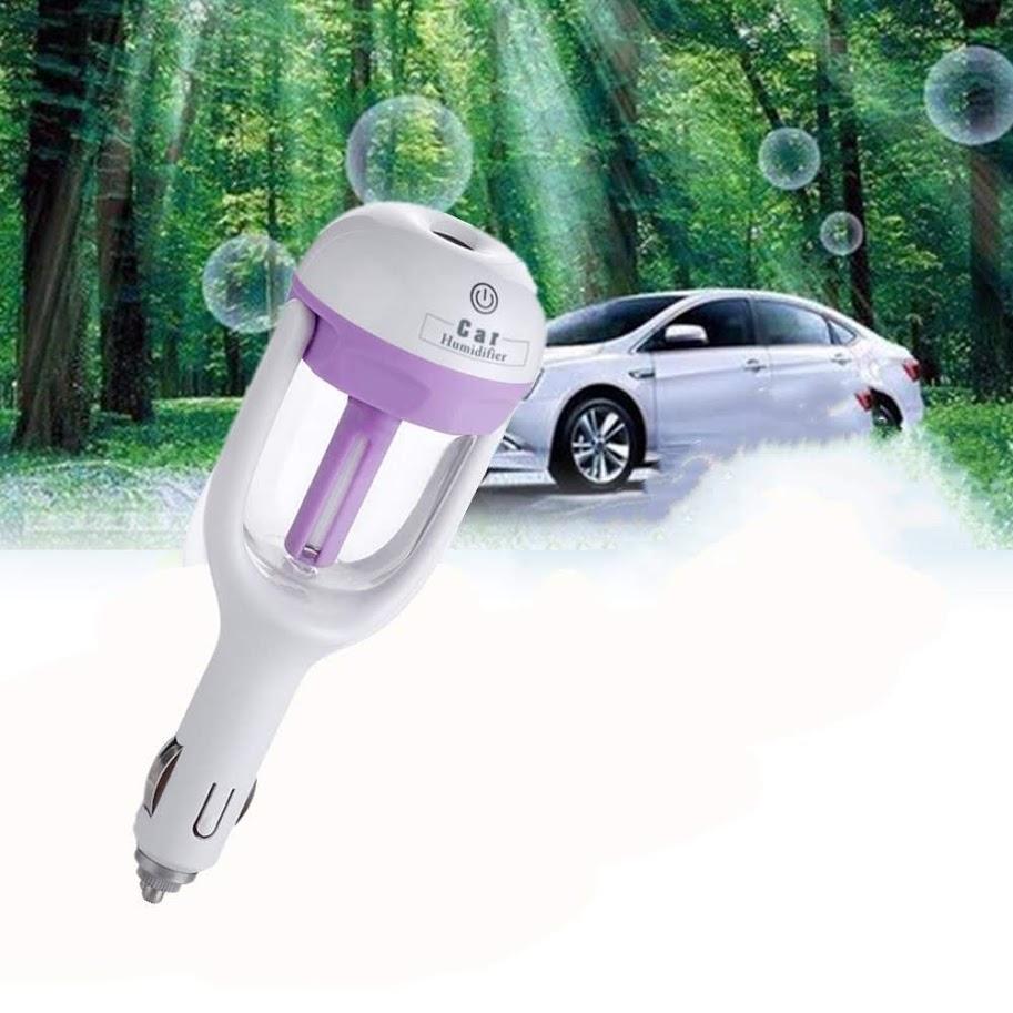 Car Humidifier Portable Auto Mini Humidifier Air Purifier Diffuser Freshener For Car Travel