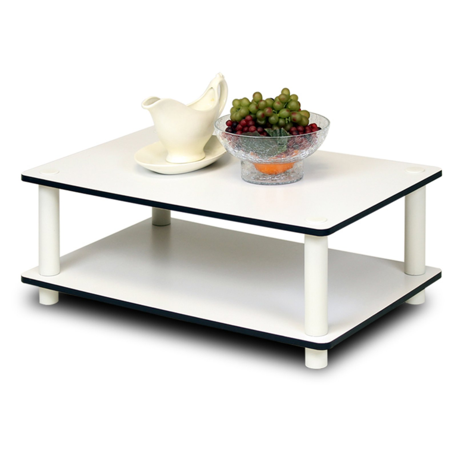 Furinno 11172 Just 2-Tier No-Tools Coffee Table by Furinno