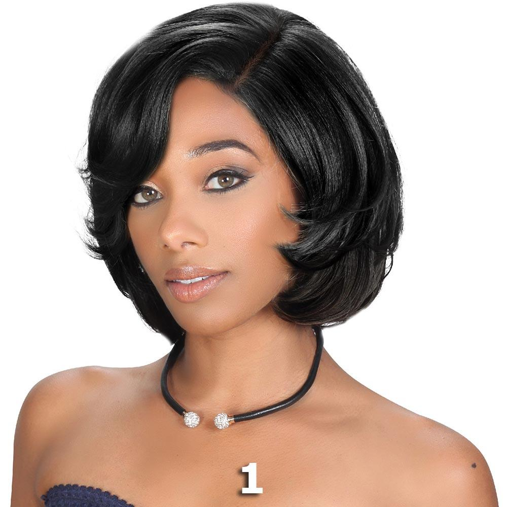 Sis Beyond Deep Part Lace Front Wig - SOLLY (1 Jet Black)