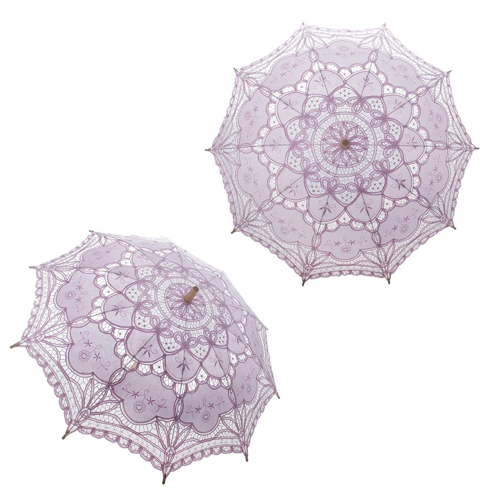 Lace Parasol Umbrella Handmade Umbrella For Wedding Party Supplies Decor Gift
