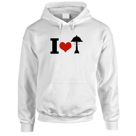 I LOVE LAMP - anchorman funny frat - Fleece PULLOVER Hoodie