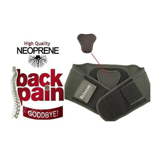IGIA ergonomie réglable soutien du dos taille tondeuse ceinture orthèse soulagement de la douleur au bas du dos avec coussin lombaire amovible
