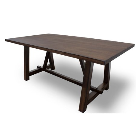 Best Master Furniture  Hillary Brown Wood Dining Table -