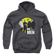 We Are Men In Circle Big Boys Pullover Hoodie