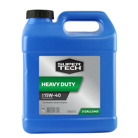 (3 Pack) Super Tech 15W40 Universal Motor Oil