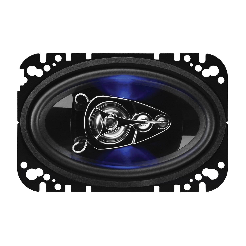 "4 Pack Boss Audio Rage 4/"" x 6/"" 4 Way 250W Full Range Audio Video Speakers"