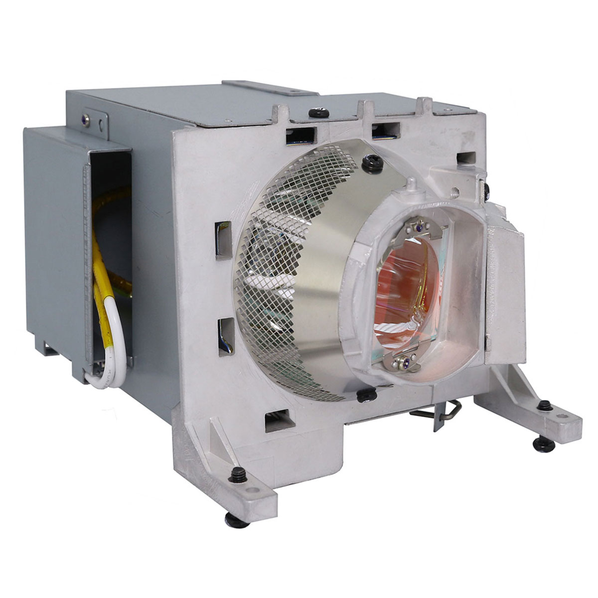 Original Philips Projector Lamp Replacement with Housing for Optoma W515 - image 4 de 5