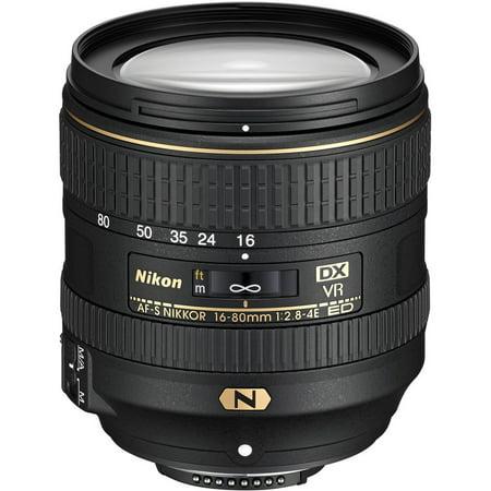 Nikon AF-S DX NIKKOR 16-80mm f/2.8-4E ED VR Lens (Nikon Af S Dx Nikkor 55 300mm)