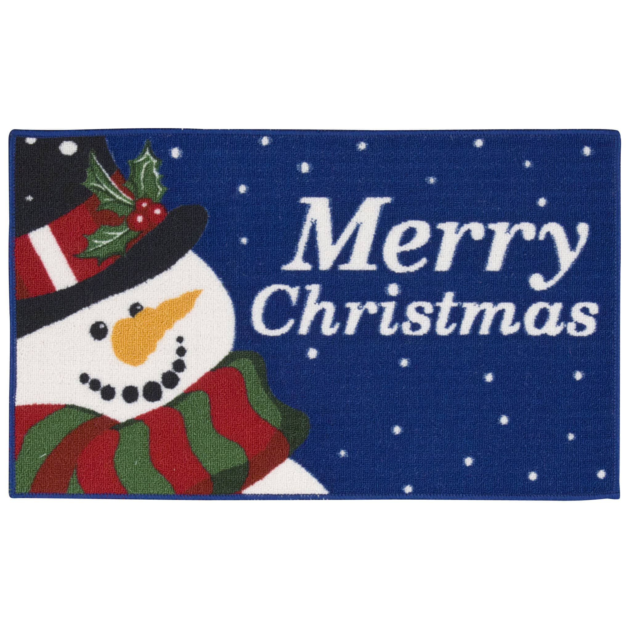 Nourison  Essential Elements Snowman Navy Accent Rug