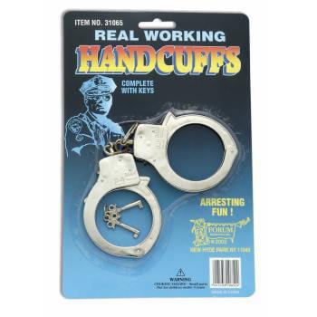 Metal Handcuffs - CUFFS-METAL