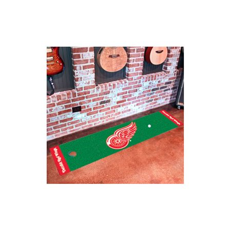 FanMats NHL Detroit Red Wings Putting Green Mat