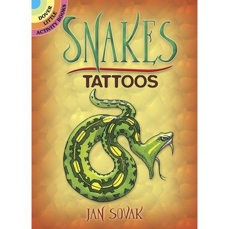 Temporary Tattoos: Snakes Tattoos - Snake Tattoos