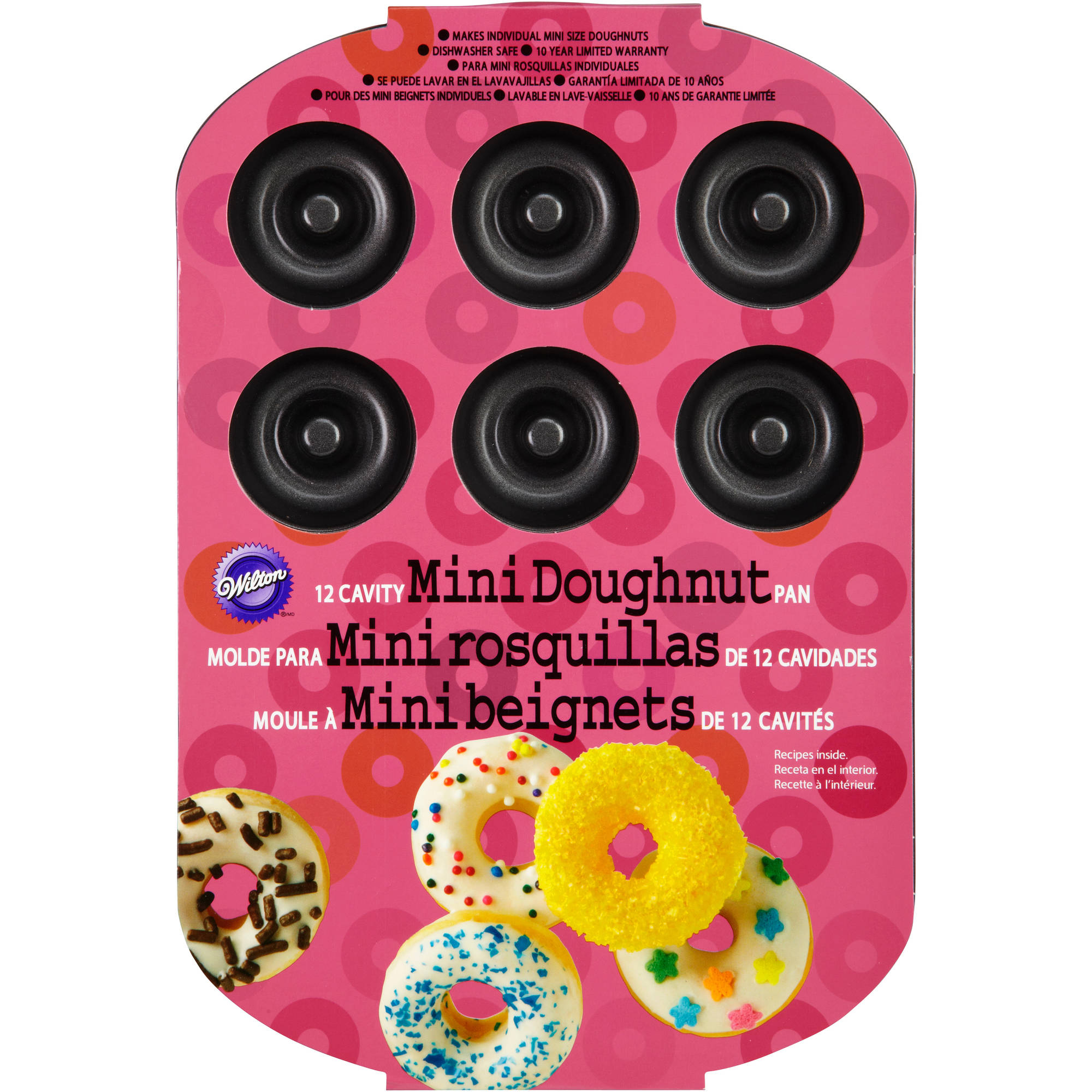 Wilton 12-Cavity Mini Doughnut Pan 2105-0614