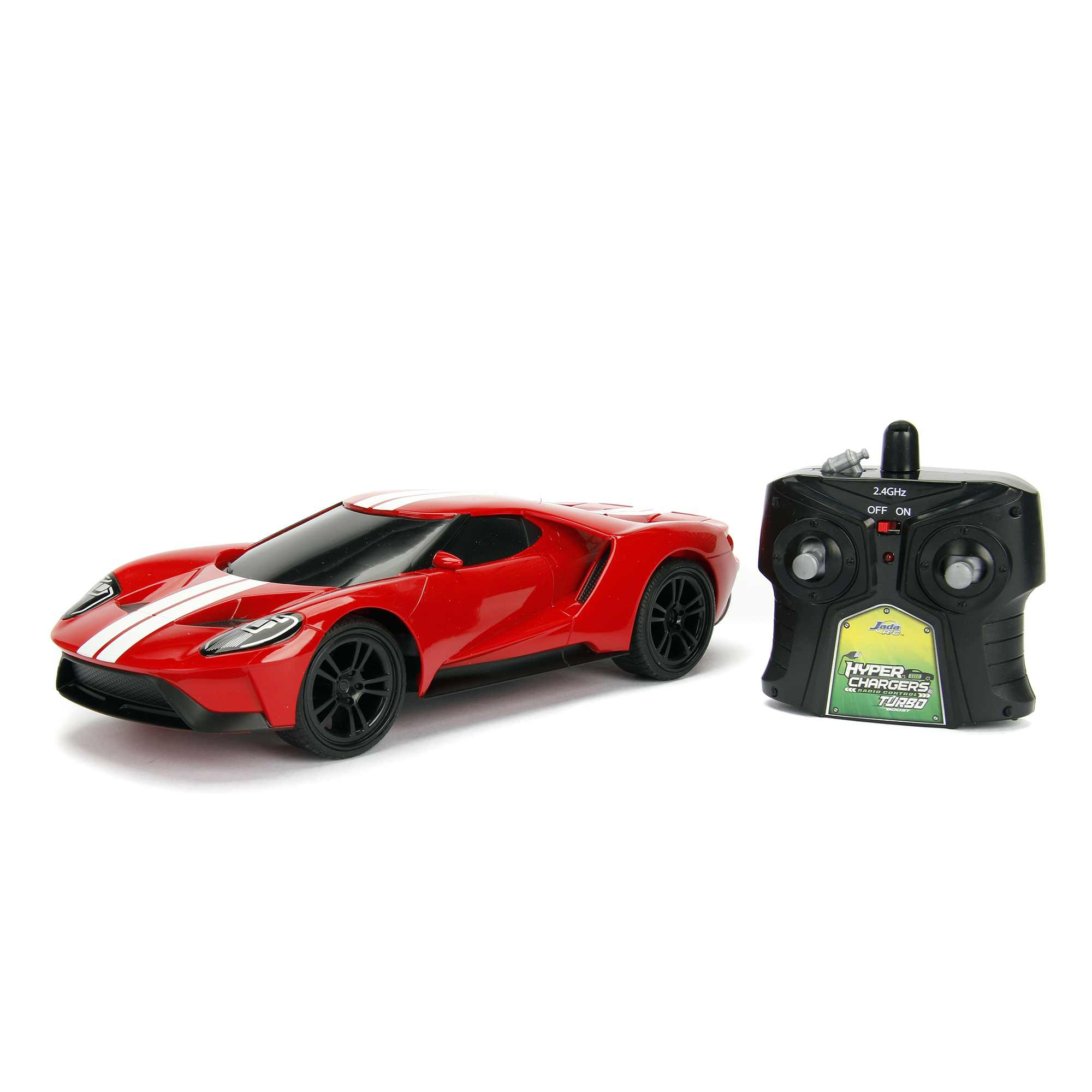 Jada Toys  Hyperchargers Big Time Muscle Rc  Ford Gt