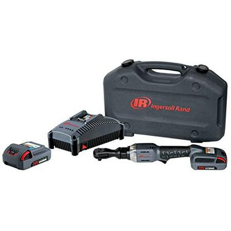 20 Volt 3 8 Cordless Ratchet Kit With 2 5ah Batteries Ingersoll Rand R3130 K22