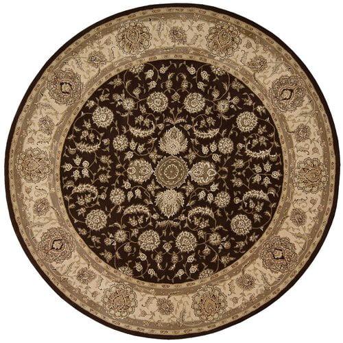 Nourison Nourison 2000 Hand Woven Wool Espresso Indoor Ar...