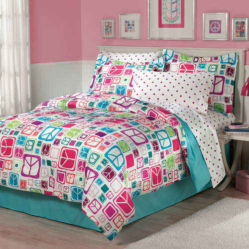 My Room Peace Out Bed in a Bag Bedding Set
