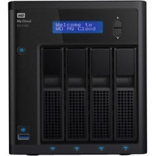 WD My Cloud EX4100 Network Attached Storage Marvell ARMADA 300 388 Dual-core (2 Core) 1.60 GHz 4 x Total Bays 32 TB HDD... by Western Digital