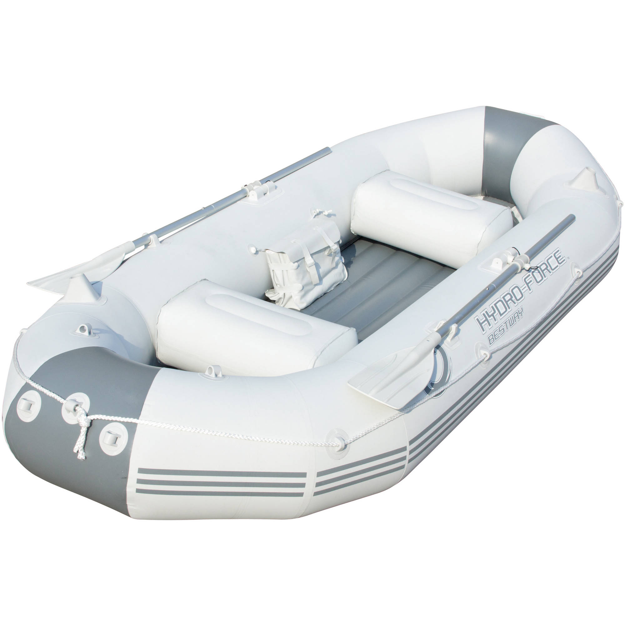 "Bestway 115"" x 50"" x 18"" Hydro-Force Marine Pro Inflatable Boat   Raft 
