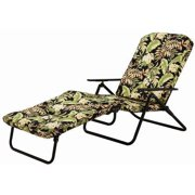 Mainstays Padded Folding Chaise Lounge, Multiple Colors