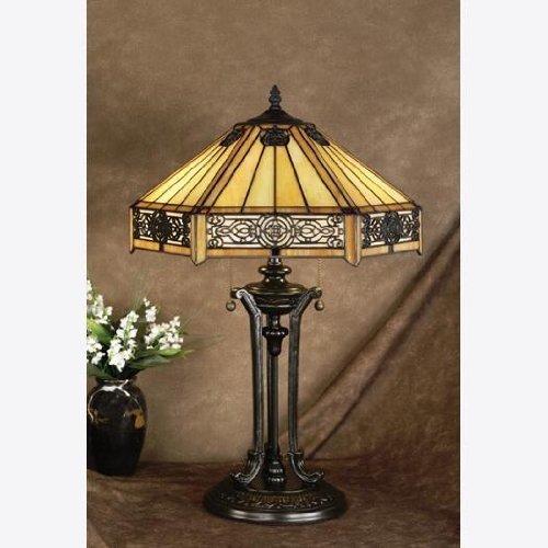 Quoizel Tiffany Table Lamp Tf6669vb Walmart Com