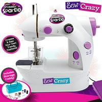 Sew Crazy Sewing Machine with Magic Sequin Headband