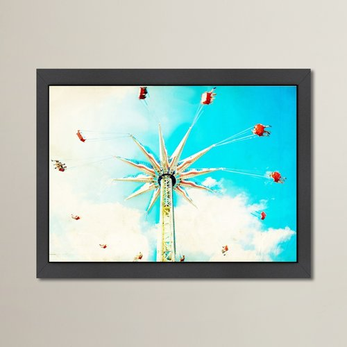 East Urban Home Spin Framed Graphic Art