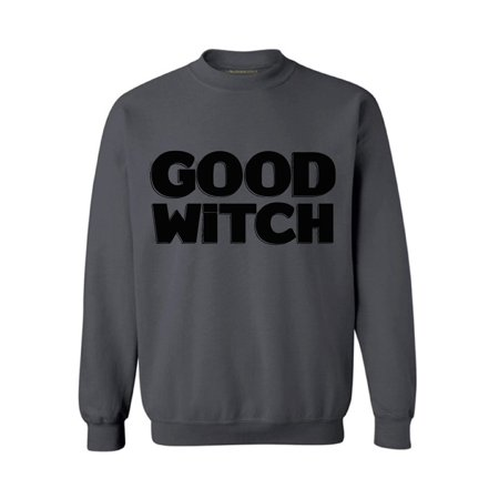 Good Day Columbus Halloween (Awkward Styles Good Witch Sweatshirt Funny Halloween Sweater Halloween Witch Outfit Dia de los Muertos Sweater for Men and Women Day of the Dead Gifts Halloween Party Sweatshirt Witch)