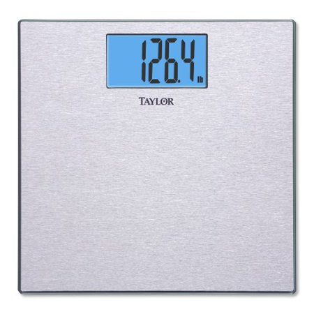 Taylor 7413 Stainless Steel Electronic Scale 400 Lb 180 Kg Maximum Weight Capacity