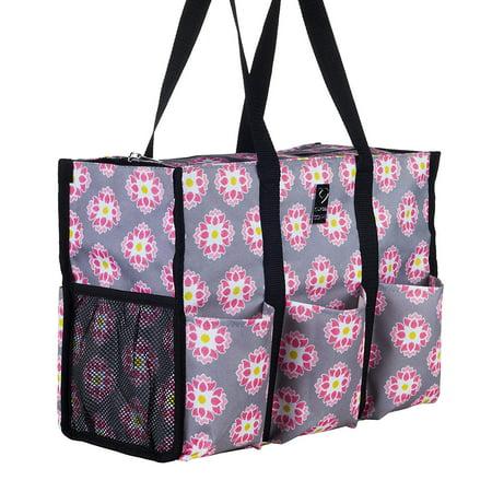 Nursescape Nurse Bag With 13 Exterior Interior Pockets Perfect Nursing Tote For Registered Nurses Students Travel Nurseore Daisy