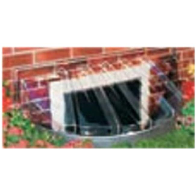 Maccourt Products W4218 43 x 18 x 12 in. Circular Bubble Window Well Cover