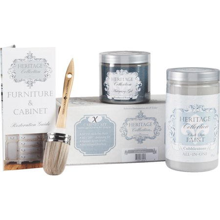 heirloom traditions heritage collection chalk paint cabinet restoration (Best Paint Restoration Kit)
