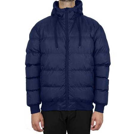 GBH Men's Heavyweight Bubble Bomber Jacket (S-2XL) Mens Bubble Vest