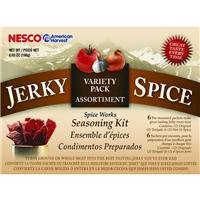 Jerky Spice Seasoning Kit Hot and Spicy & Teriyaki Great for Beef Jerky