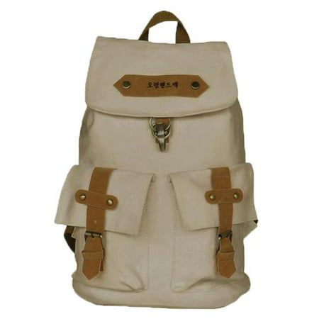 Heartbeats Camping Backpack  Outdoor Daypack & School Backpack  White - image 1 of 1