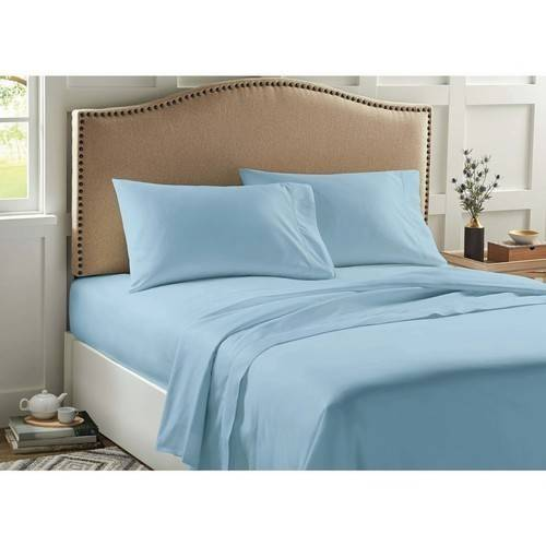 Better Homes And Gardens 400 Thread Count Solid Performance Sheet Set
