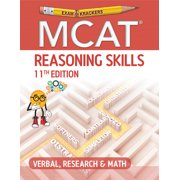 Examkrackers MCAT 11th Edition Reasoning Skills: Verbal, Research and Math (Paperback)