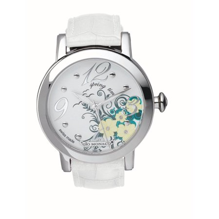 Women's 790-F Season White Spring Dial Alligator Leather (Dial Brown Alligator)