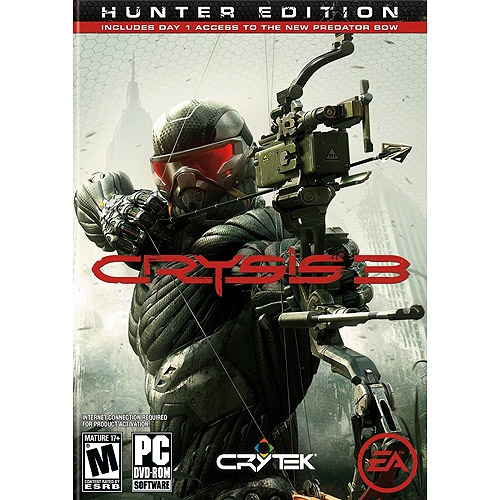 Crysis 3 Hunter Edition (PC) w/ Day 1 Access to New Predator Bow