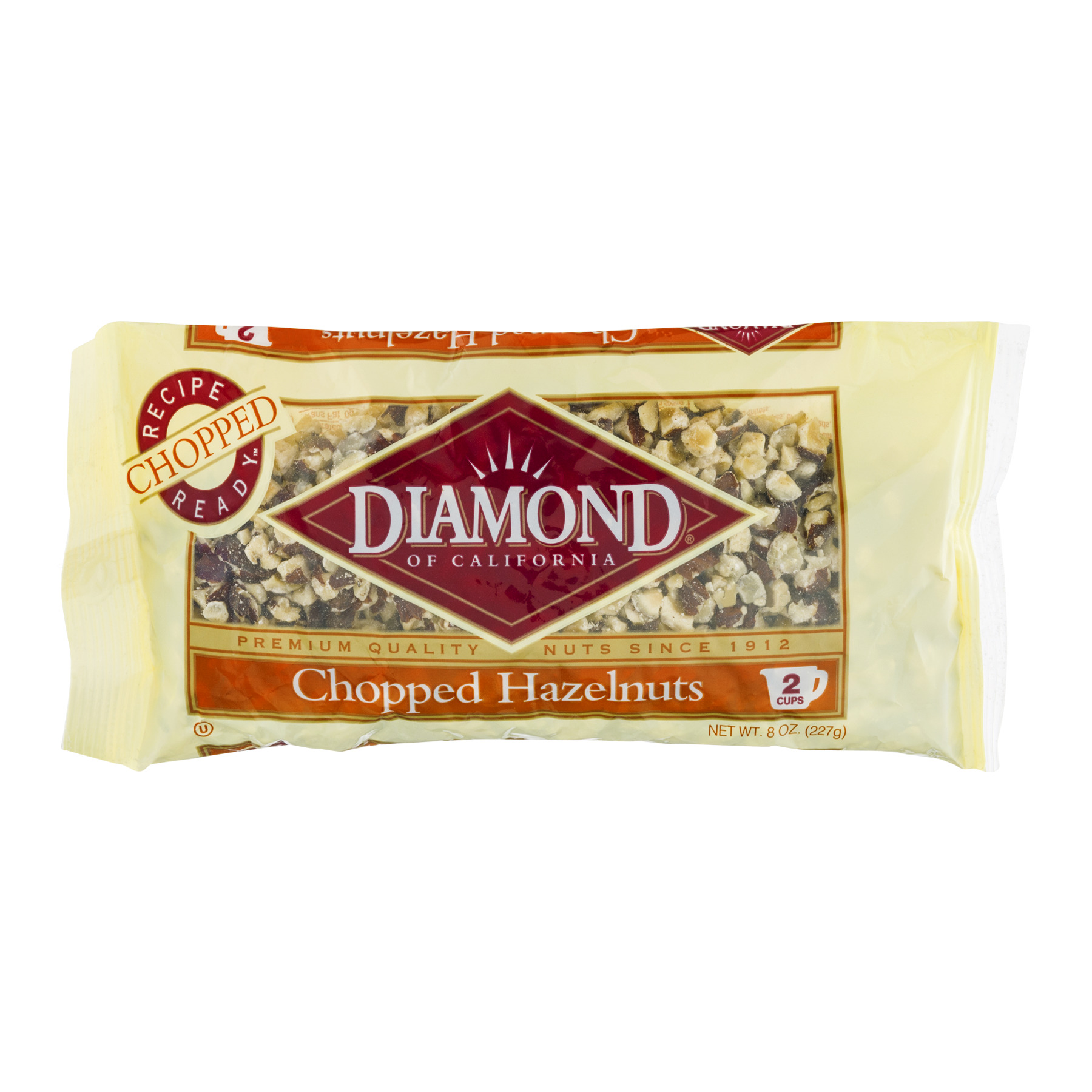 Diamond Chopped Hazelnuts, 8.0 OZ