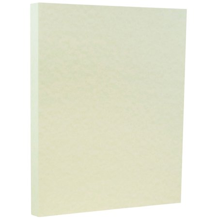 """JAM Paper Parchment Paper, 8.5"""" x 11"""", 24 lb Green Recycled- 100 Sheets/pack"""