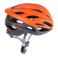 Retrospec CM-3 Bike Helmet with LED Safety Light Adjustable Dial and 24 vents