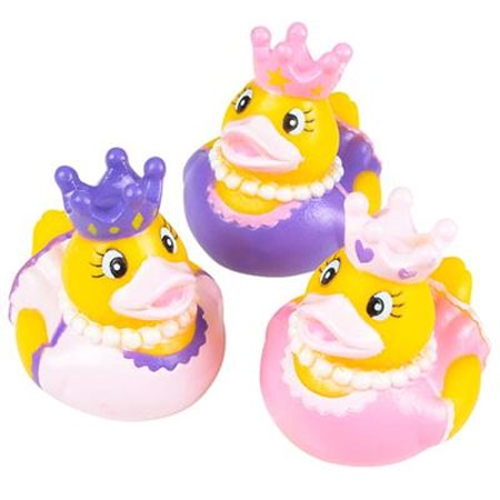 Rhode Island Novelty - Rubber Ducks - PRINCESS DUCKIES (Set of 3 Styles)
