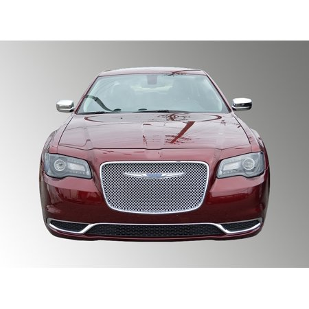 Fits 15-17 CHRYSLER 300 - Chrome ABS GRILLE