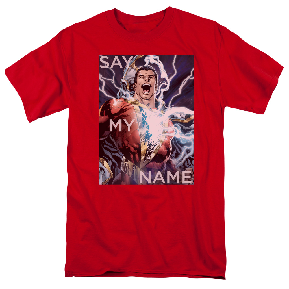 Jla/Say My Name S/S Adult 18/1 Red   Jla557