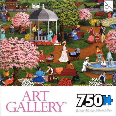 Puzzle 750 Pc Art Gallery - Mother`s Day At The