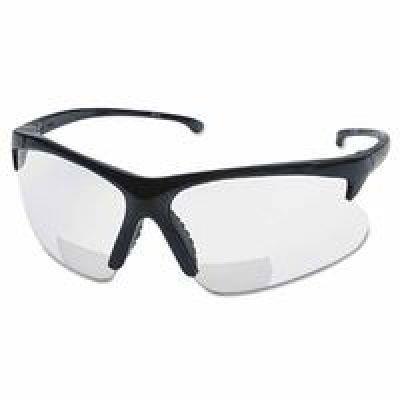 JACKSON SAFETY Bifocal Safety Read Glasses,+1.50,Black (Safety Bifocals)