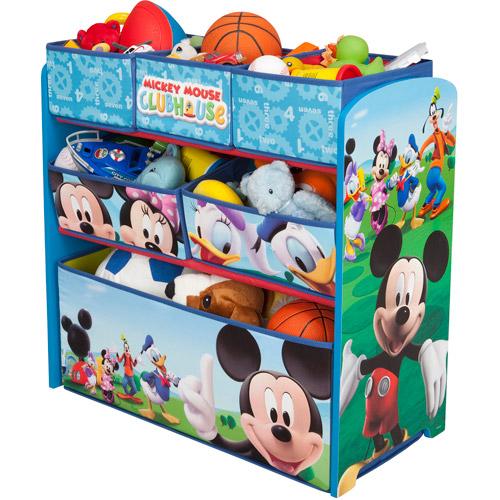 Disney Multi Bin Toy Organizer, Mickey Mouse