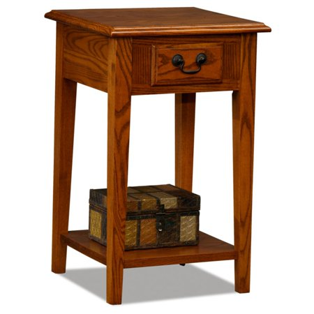 Leick Home Square Side Table, Multiple Colors